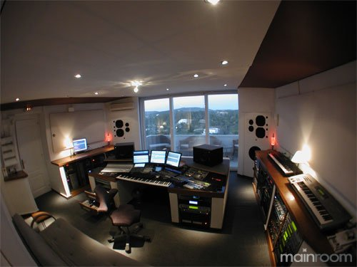 Jens Gad Enigma 187 Recording Studio Photo Gallery